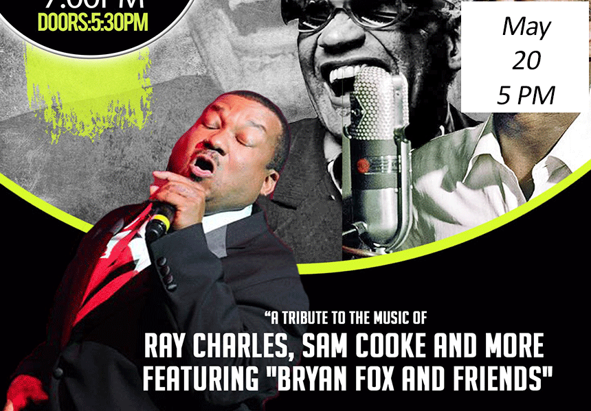 Tribute to the Music of Ray Charles, Sam Cooke, and Otis Redding