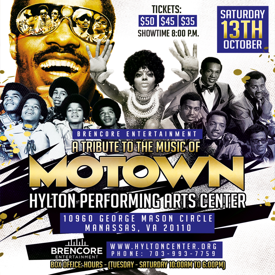 A Tribute to the Music of MOTOWN at the Hylton Preforming Arts Center