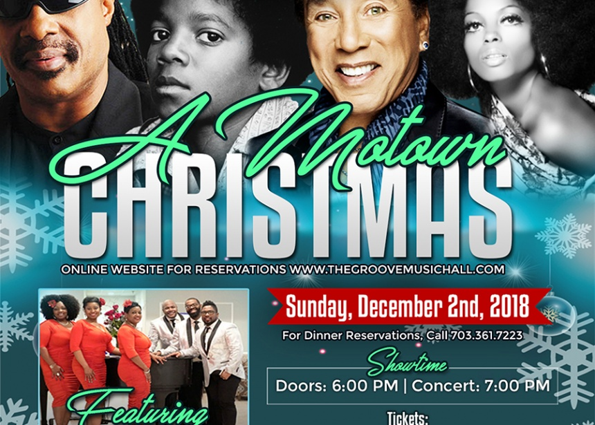 MOTOWN Christmas at the Groove