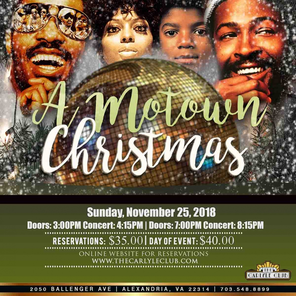 A MOTOWN Christmas at the Carlyle Club
