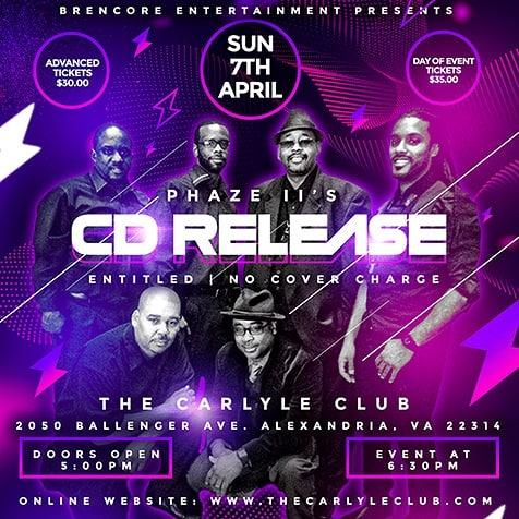 Phaze II's CD Release