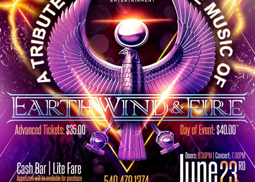 A Tribute to the music of Earth, Wind & Fire