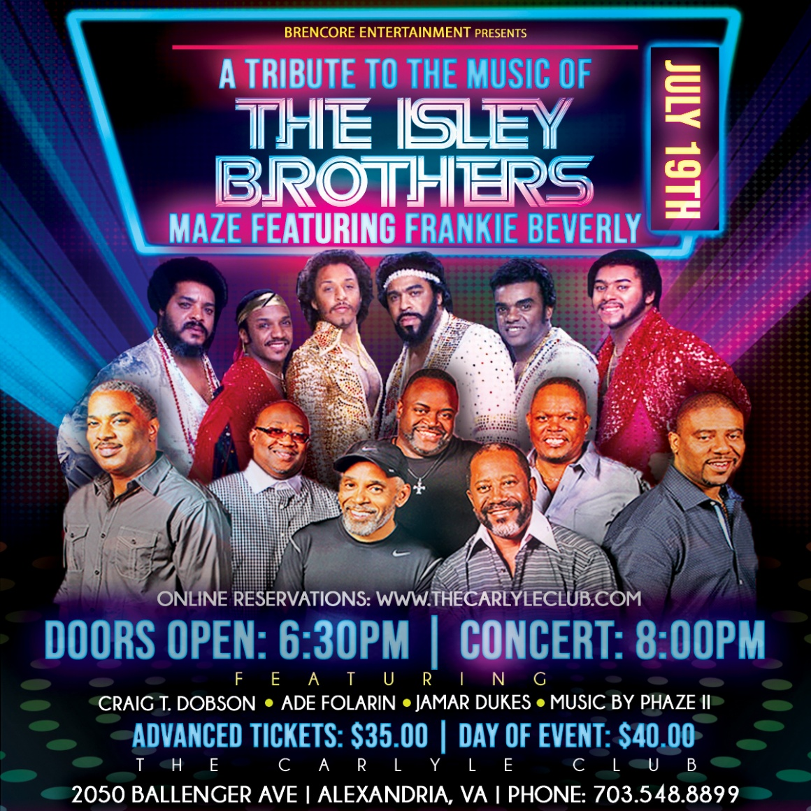 A Tribute to the Music of The Isley Brothers