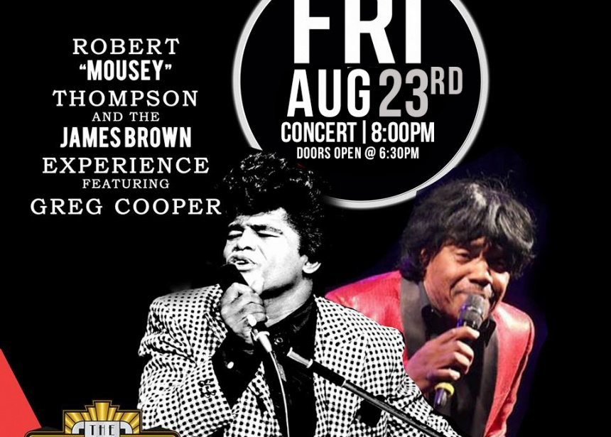 "Robert ""Mousey"" Thompson and the James Brown Experience"