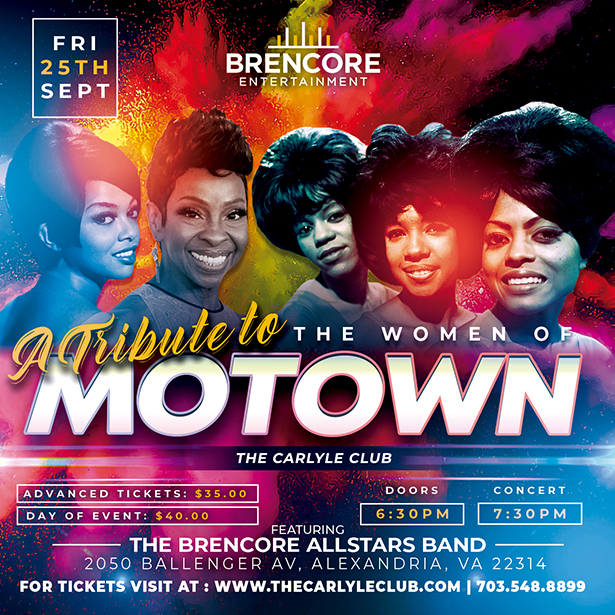 A Tribute to the Women of MOTOWN