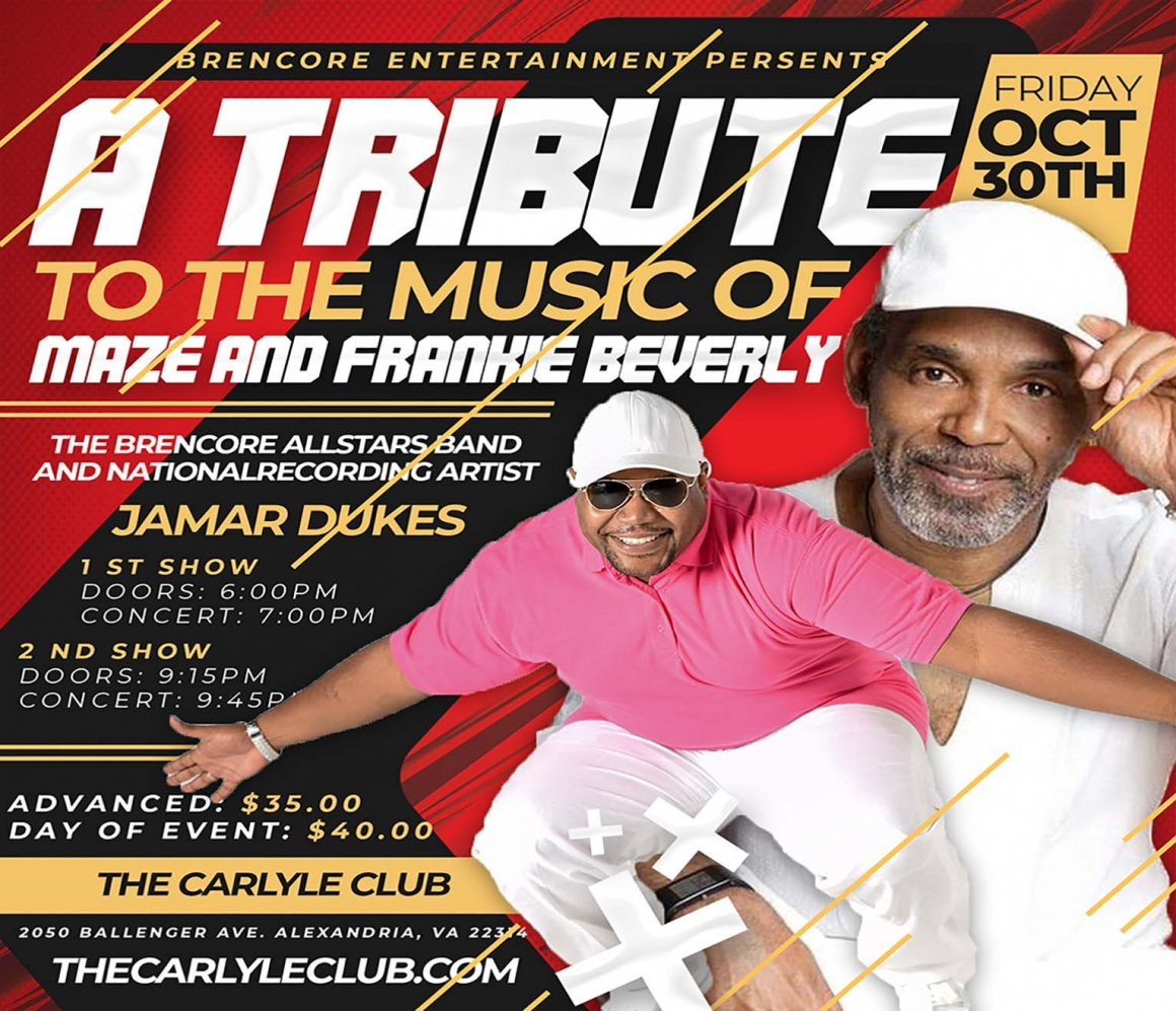 A Tribute to the Music of MAZE and Frankie Beverly