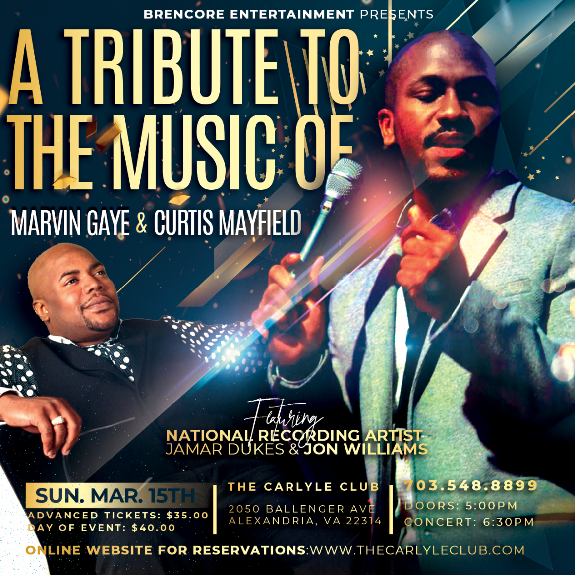 A Tribute to the Music of Marvin Gaye and Curtis Mayfield