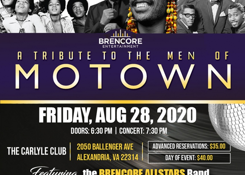 A Tribute to the Men of Motown
