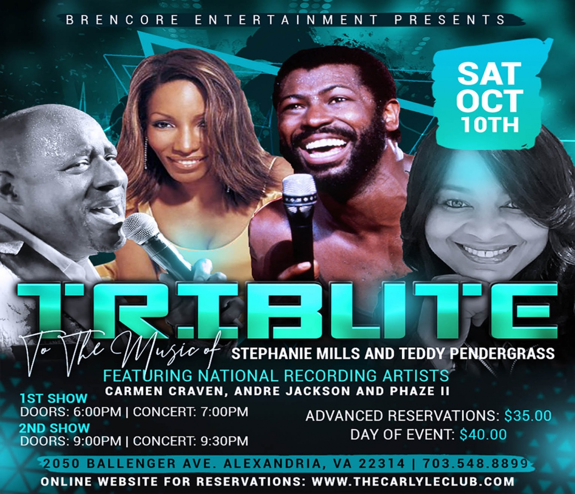 A Tribute to the Music of Teddy Pendergrass and Stephanie Mills