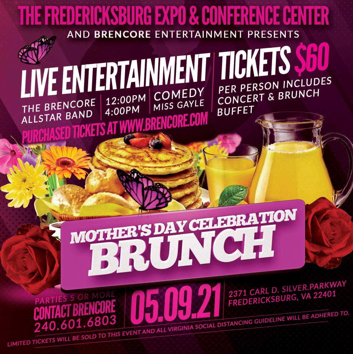 Mother's Day Celebration Brunch (sold out)