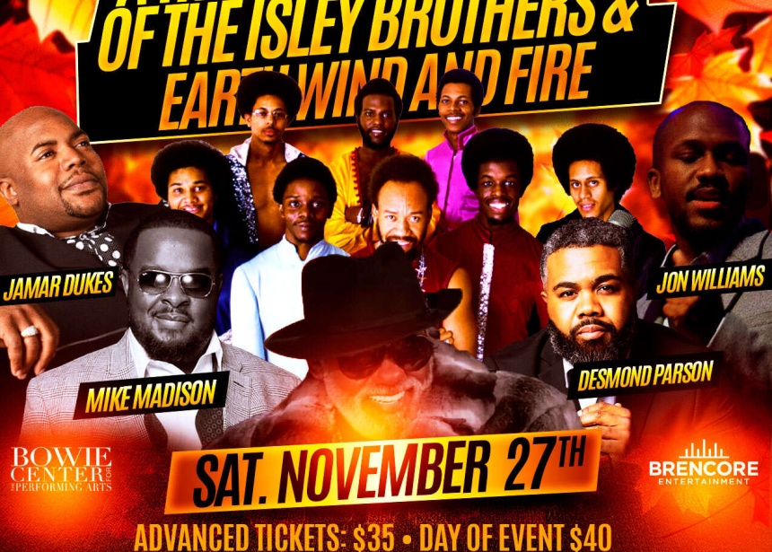 A Tribute to the Music of the Isley Brothers & Earth Wind and Fire